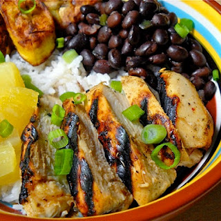 Jamaican Jerk Chicken Bowls