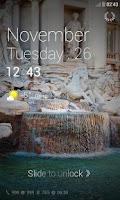 Screenshot of RomanHoliday DodolLocker Theme