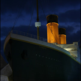 Titanic Museum Exterior by Randy Payne - City,  Street & Park  Historic Districts
