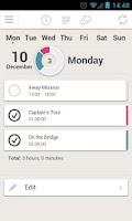 Screenshot of TimeZynk Pro