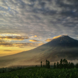 Bad weather, but it's a great view by Anis Abdillah - Instagram & Mobile Other ( mountain, indonesia, sunrise, landscape, nokian8 )