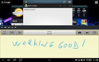 Screenshot of Speedy Notes
