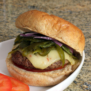 Green Chile Burgers