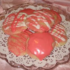 Pink Sweeties (Pretty Pink Almond Cookies)