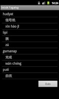 Screenshot of Chinese Tagalog Dictionary