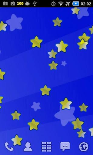 Stars Bubbles Live Wallpaper