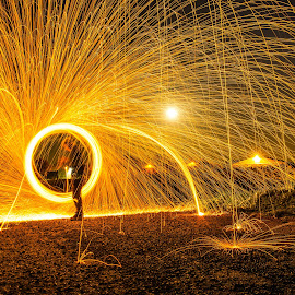 by Sam Stephens - Digital Art Places ( steel wool )