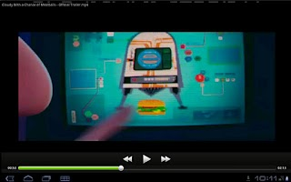 Screenshot of teteVideo - two hands video