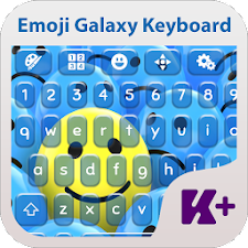 Emoji Galaxy Keyboard Theme
