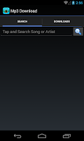 Screenshot of Android mp3 Music Download