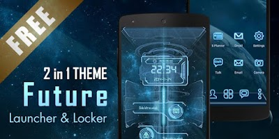 Screenshot of Future 3D Launcher & Locker