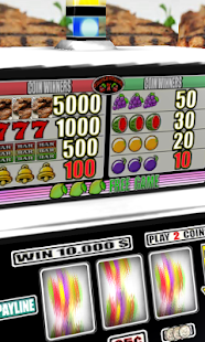 3D Pork Chops Slots - Free - screenshot