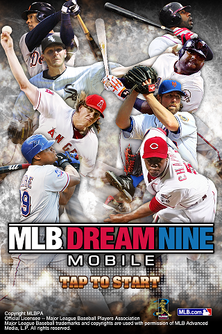mlb-dream-nine-mobile for android screenshot