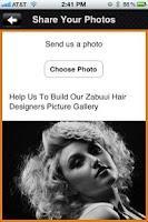 Screenshot of Zabuui Hairdesigners
