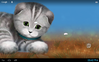 Screenshot of Silvery the Kitten HD