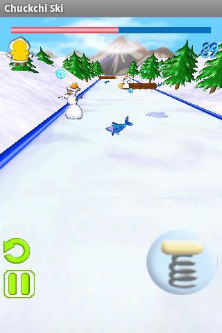 【免費街機App】Chuckchi Ski-APP點子