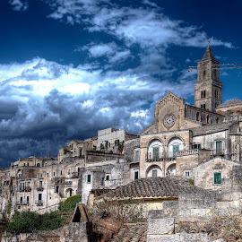 Matera by Lorenzo Di Candia - City,  Street & Park  Skylines ( lorenzo di candia, hdr, unesco, city of stones, matera,  )