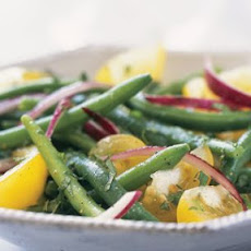 Green Bean and Yellow Tomato Salad with Mint
