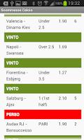 Screenshot of Football Bet System