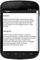 Screenshot of Cara Solat Tahajjud