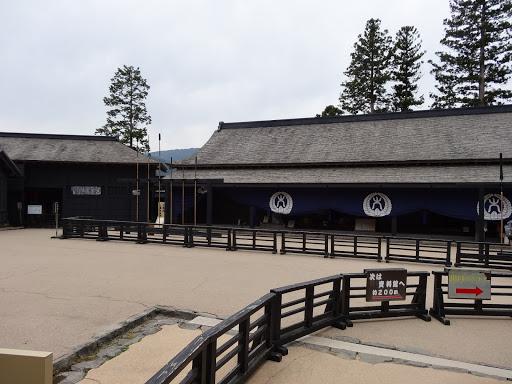 箱根関所の様子