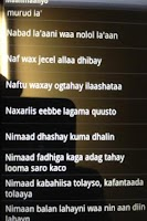 Screenshot of Maahmaahyo (Somali proverbs)