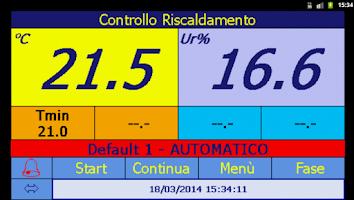 Screenshot of Travaglini TRC-NET Mobile