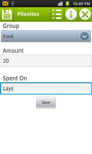 Simple Easy Expense Manager
