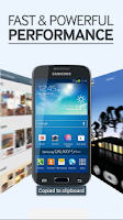 Screenshot of Galaxy S4 mini Retailmode