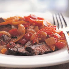 Steak Piperade