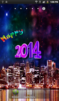 Screenshot of New Year HD Live Wallpaper