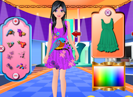 Screenshot of My Fashion Designer Dress Up