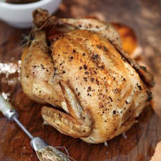 Grill-Roasted Chicken with Herb Mop