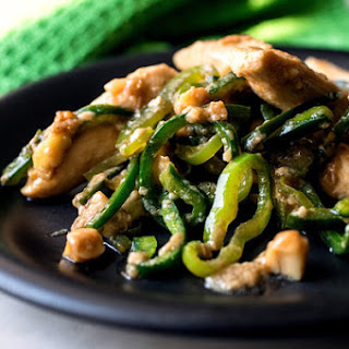 Chicken Stir-Fry With Mixed Peppers