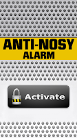 Screenshot of Anti-Nosy Alarm