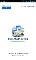 Screenshot of Pixel Media Server - DMS