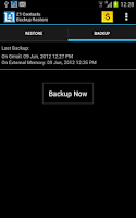 Screenshot of Contacts Backup - AUTOMATIC