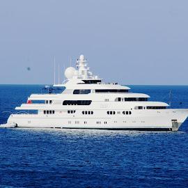 MY Titania by Ilse Gibson - Transportation Boats ( motorcruiser, superyacht, luxury yacht, thailand, motoryacht, phuket )