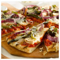 Chicken Fajita Grilled Pizzas