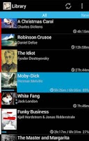 Screenshot of Smart AudioBook Player