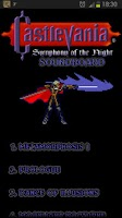 Screenshot of Castlevania: SotN OST