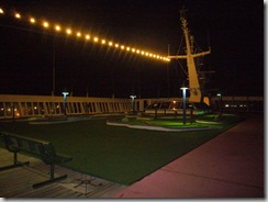 Vista del Mini Golf