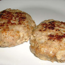Seasoned Turkey Patties
