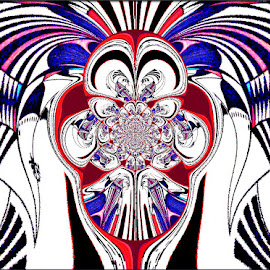 by Yvonne Collins - Digital Art Abstract