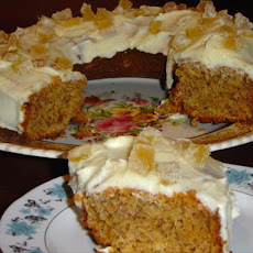 Scrummy Ginger Banana Cake !