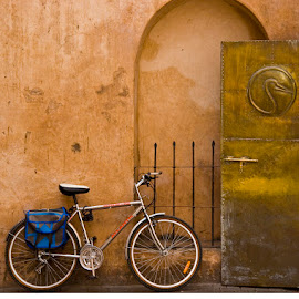 Moroccan bicycle by Gale Perry - Transportation Bicycles (  )