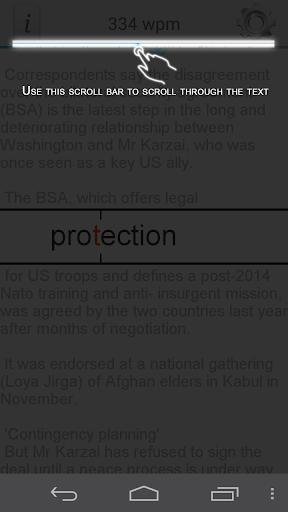 Sprint Reader PRO - screenshot