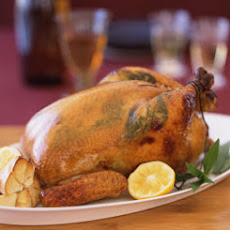 Honey-Roasted Chicken with Lemon and Tarragon