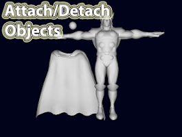 Screenshot of d3D Sculptor FREE