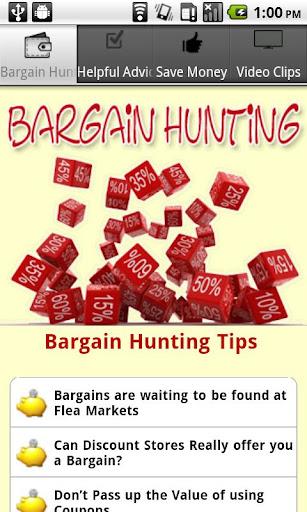 Bargain Hunting Guide